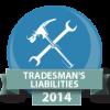 Tradesmans Liabilities Badge
